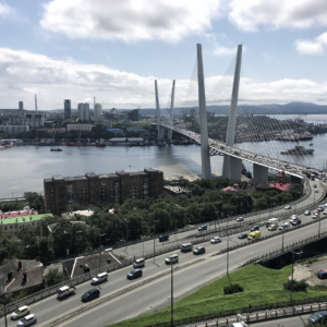 Most Rosyjski we Władywostoku