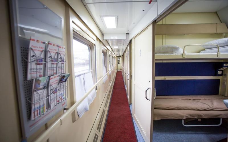 Korytarz w wagonie 2 klasy