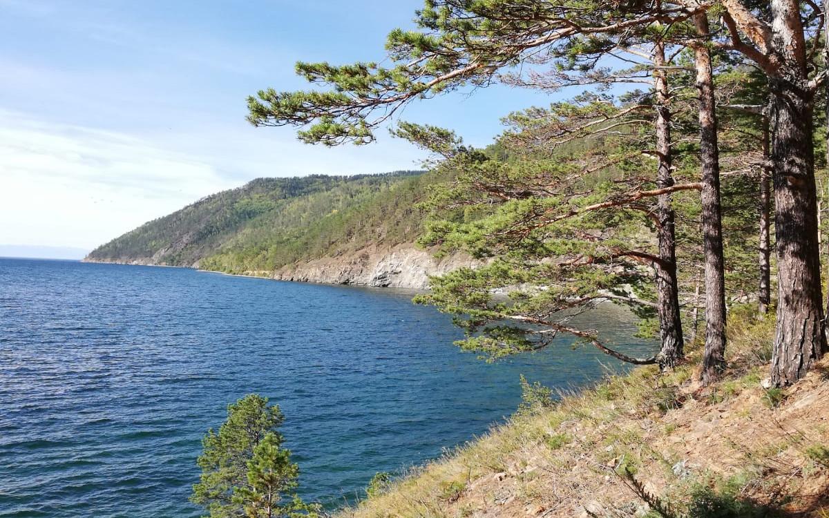 Południowo-zachodnie wybrzeże Bajkału