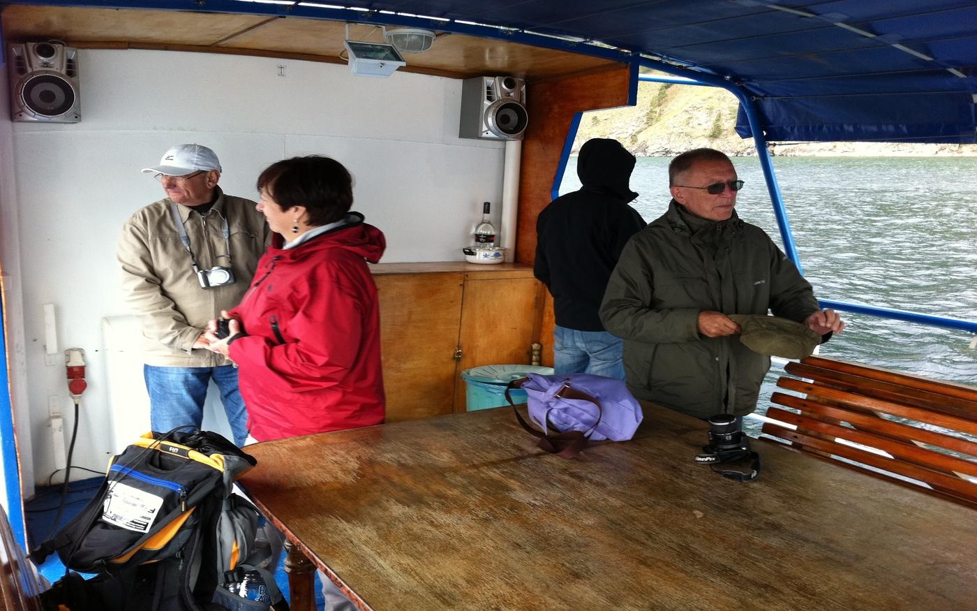 Rejs po Jeziorze Bajkał