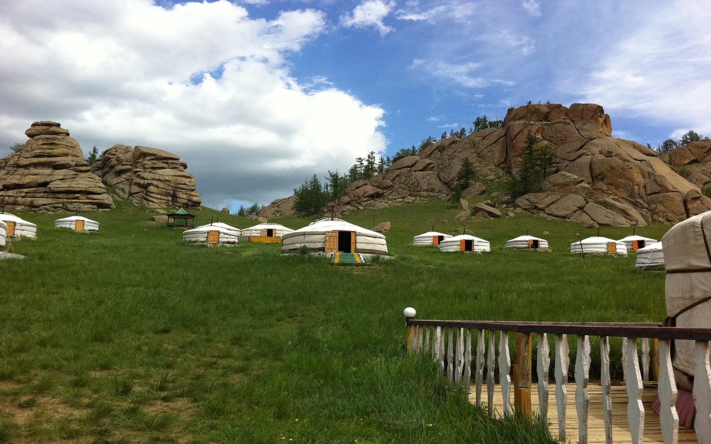 Ger camp w Parku Narodowym Terelj