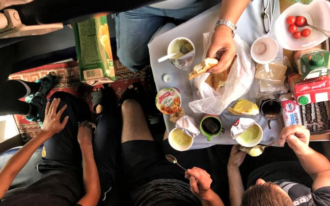 3 klasa - wspólny posiłek