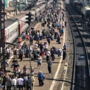 Dworzec kolejowy w Ułan Ude