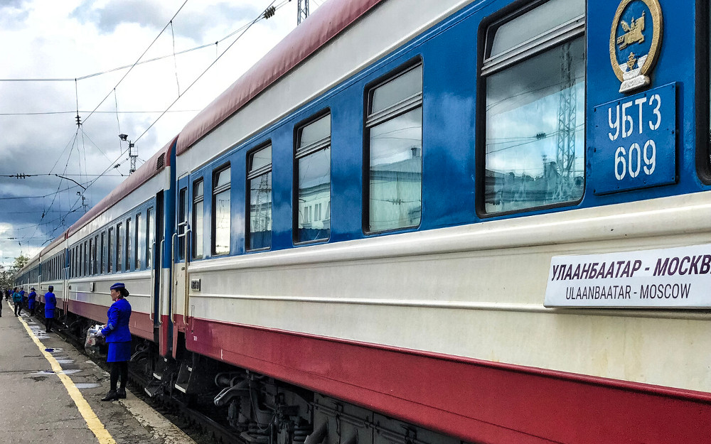 Pociąg nr 5 z Ułan Bator do Moskwy