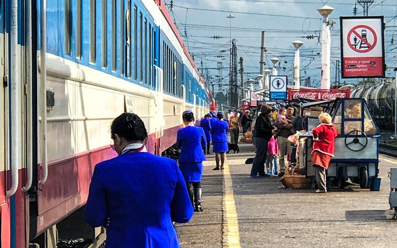 Pociąg nr 6 z Moskwy do Ułan Bator