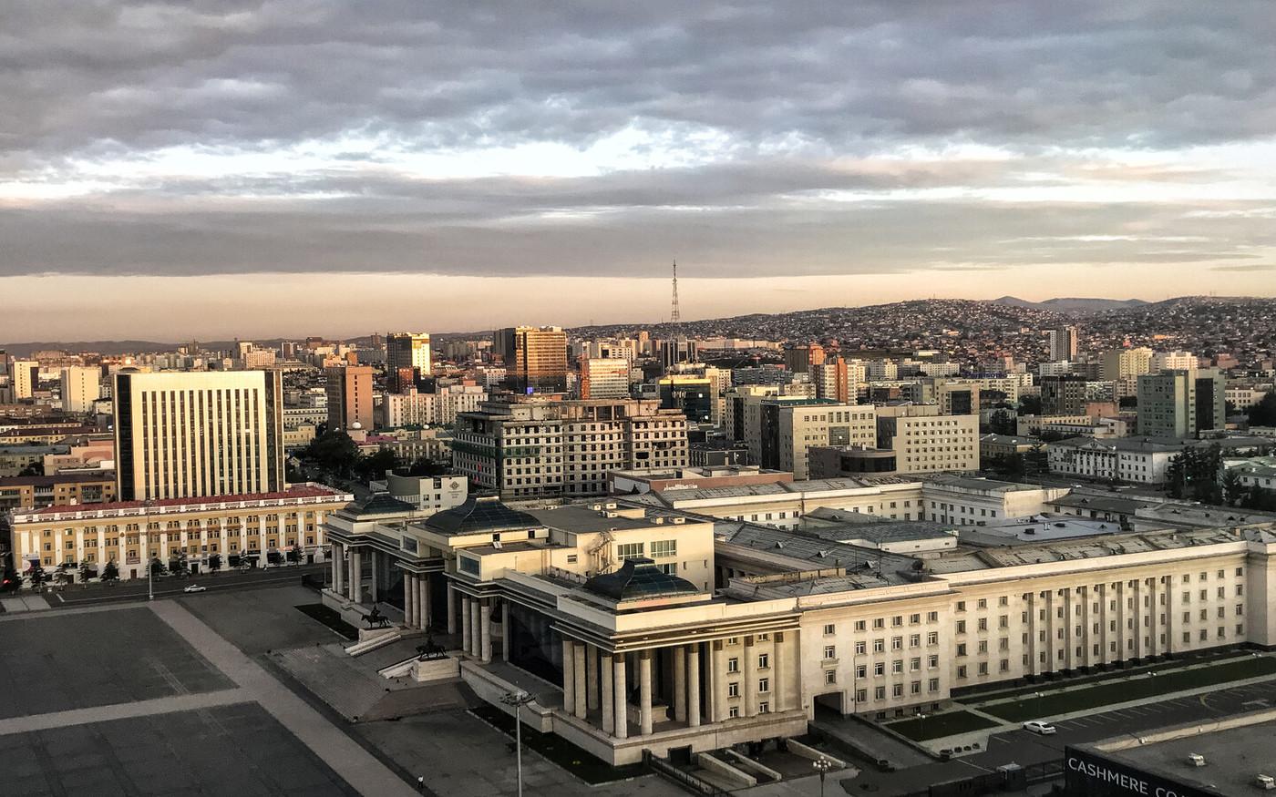 Ułan Bator - panorama miasta