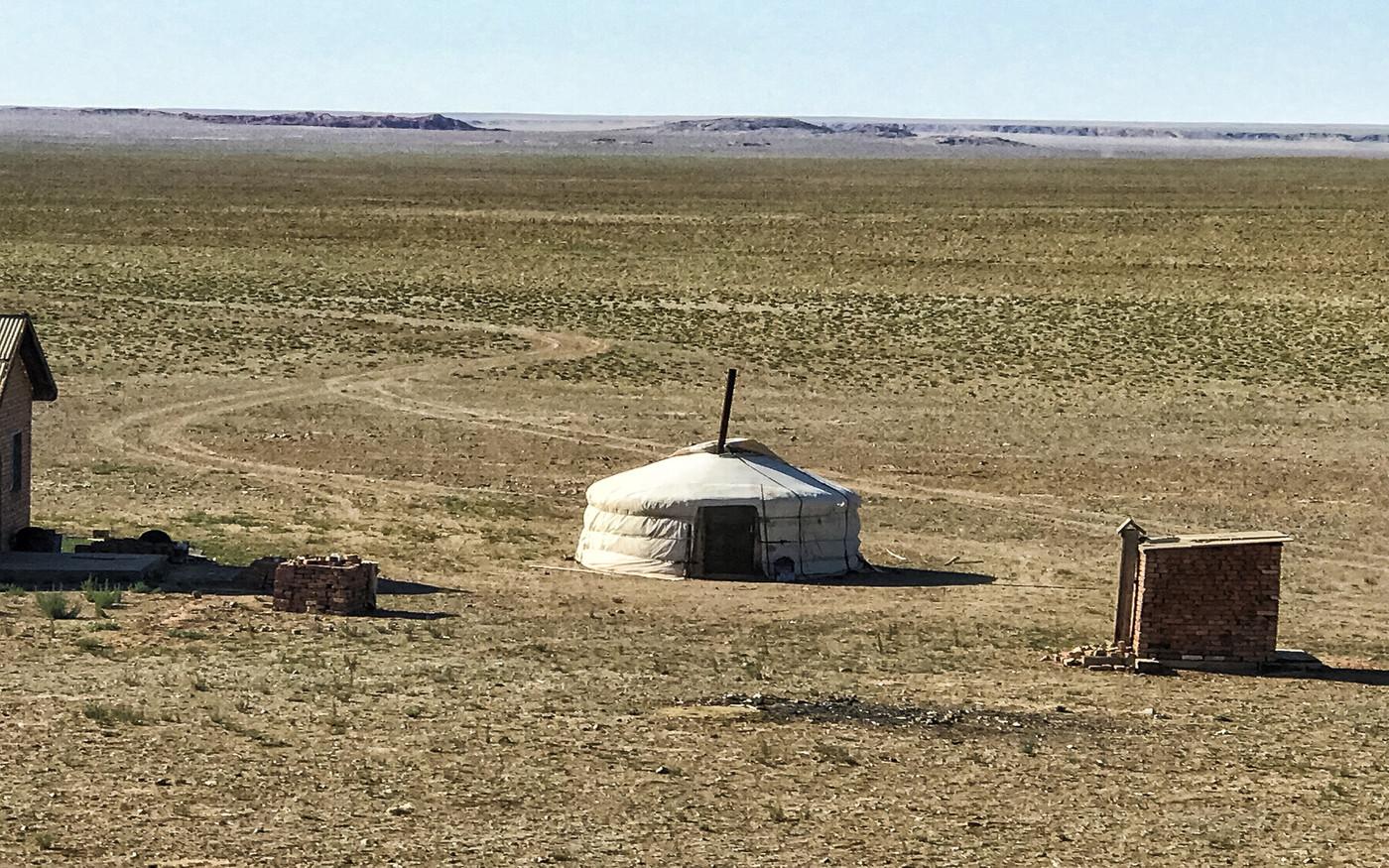 Mongolska pustynia