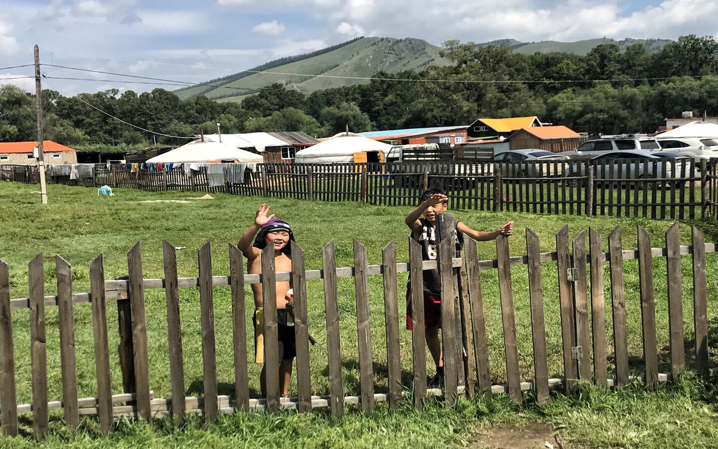 Osada w Mongolii