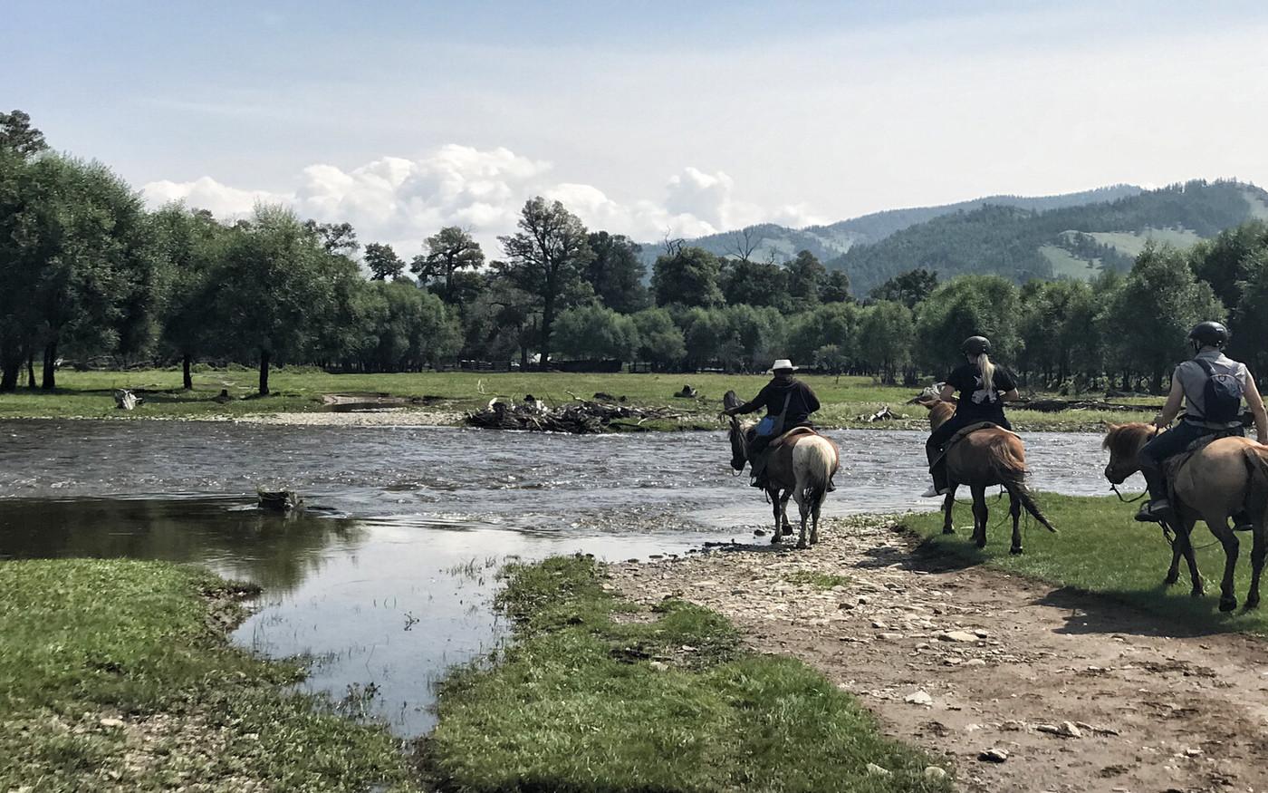 Wyprawa konna w Mongolii