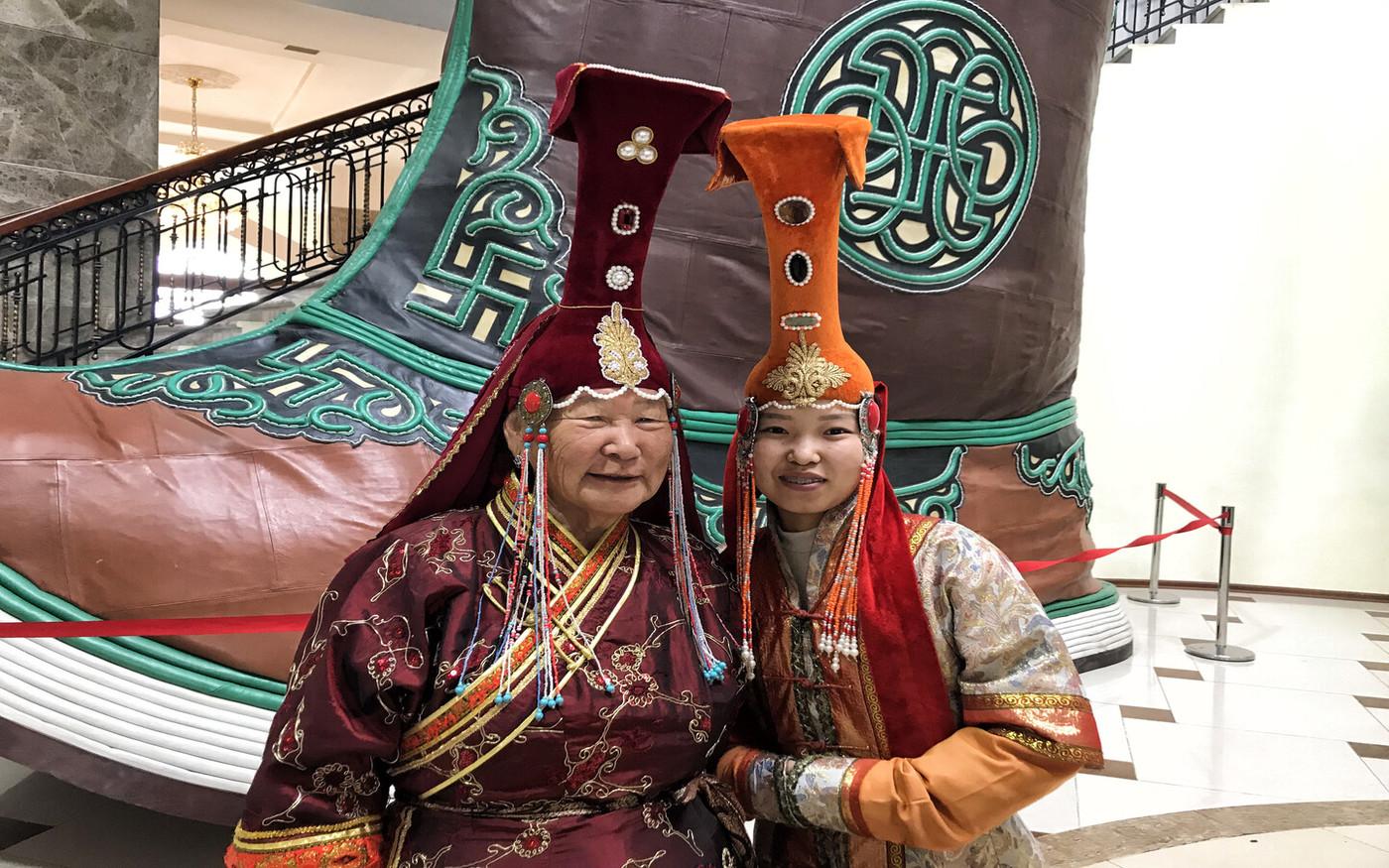 Stroje mongolskie