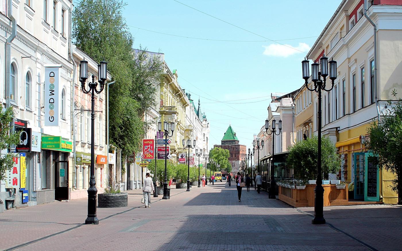 Niżny Nowogród - centrum miasta