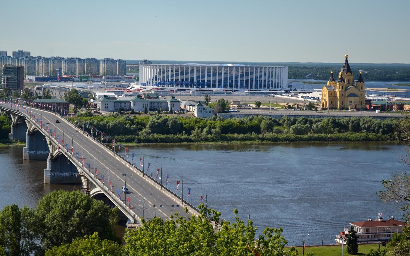 Most na rzece Wołga