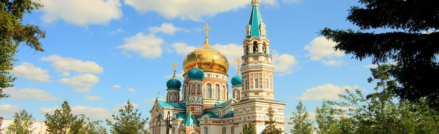 Prawosławny sobór w Omsku