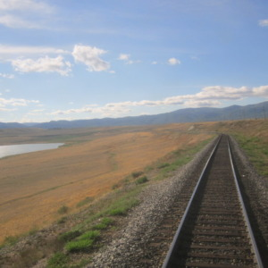 Kolej Transsyberyjska w Mongolii