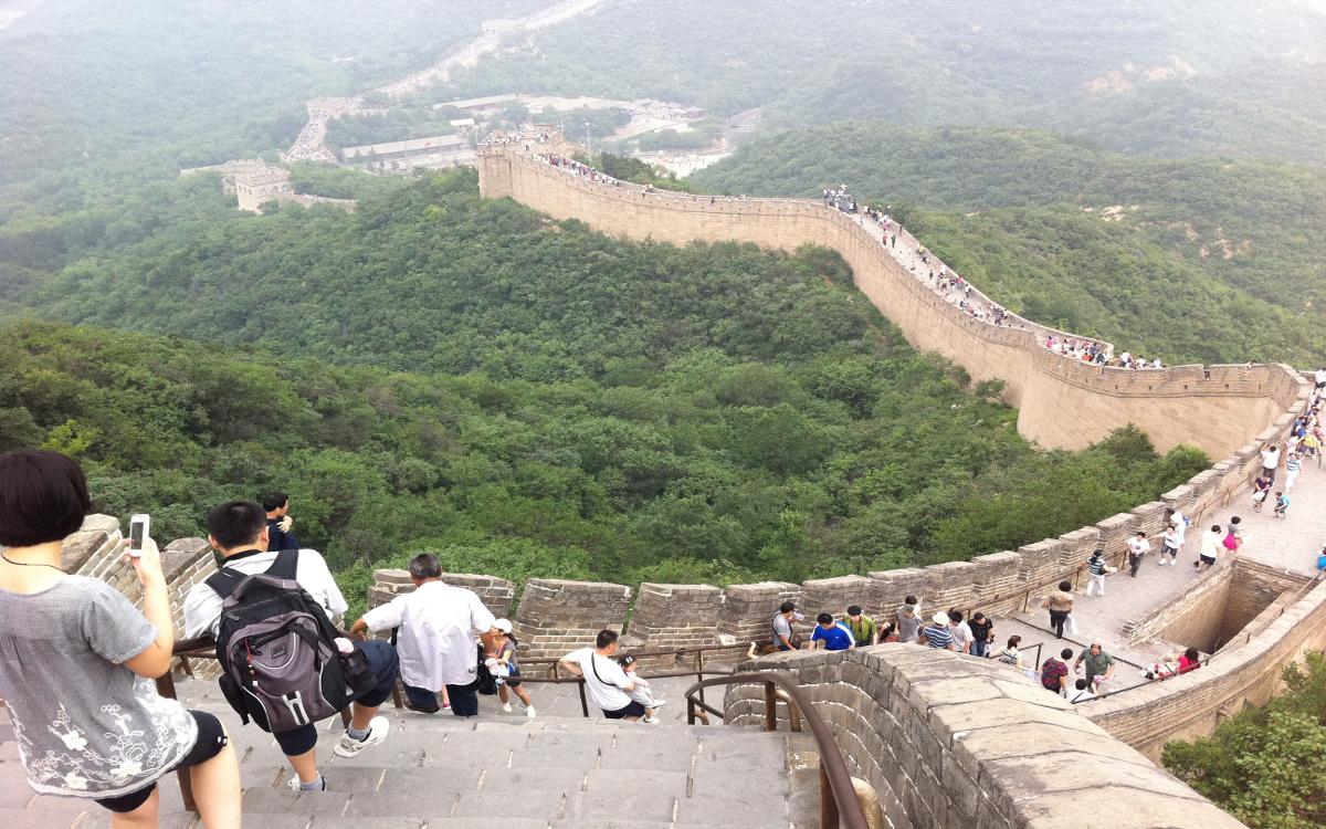Mur Chiński niedaleko Pekinu