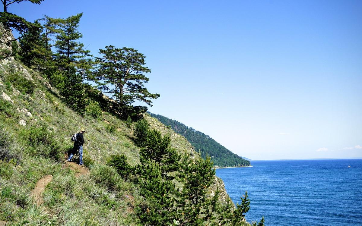 Zachodnie wybrzeże Bajkału
