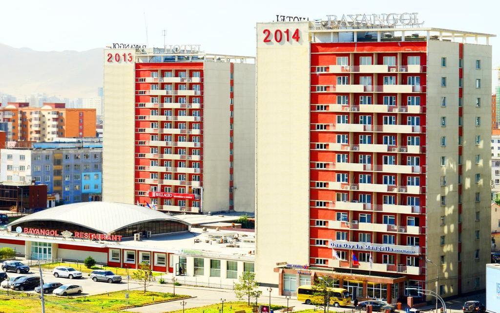 Ułan Bator, hotel Bayangol