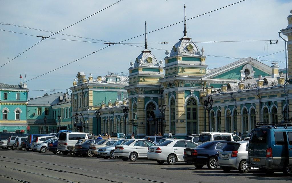 Dworzec kolejowy w Irkucku